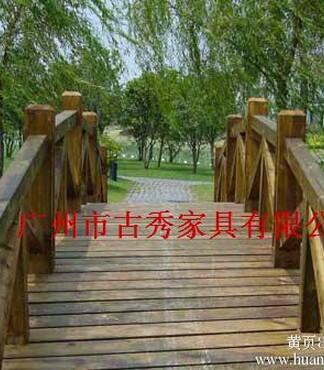 【防腐木拱桥,碳化木拱桥_防腐木拱桥价格|图片】-黄页88网