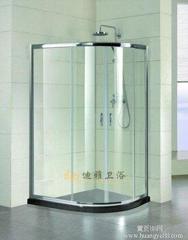 圆弧形淋浴房整体 淋浴房价格 北京生产